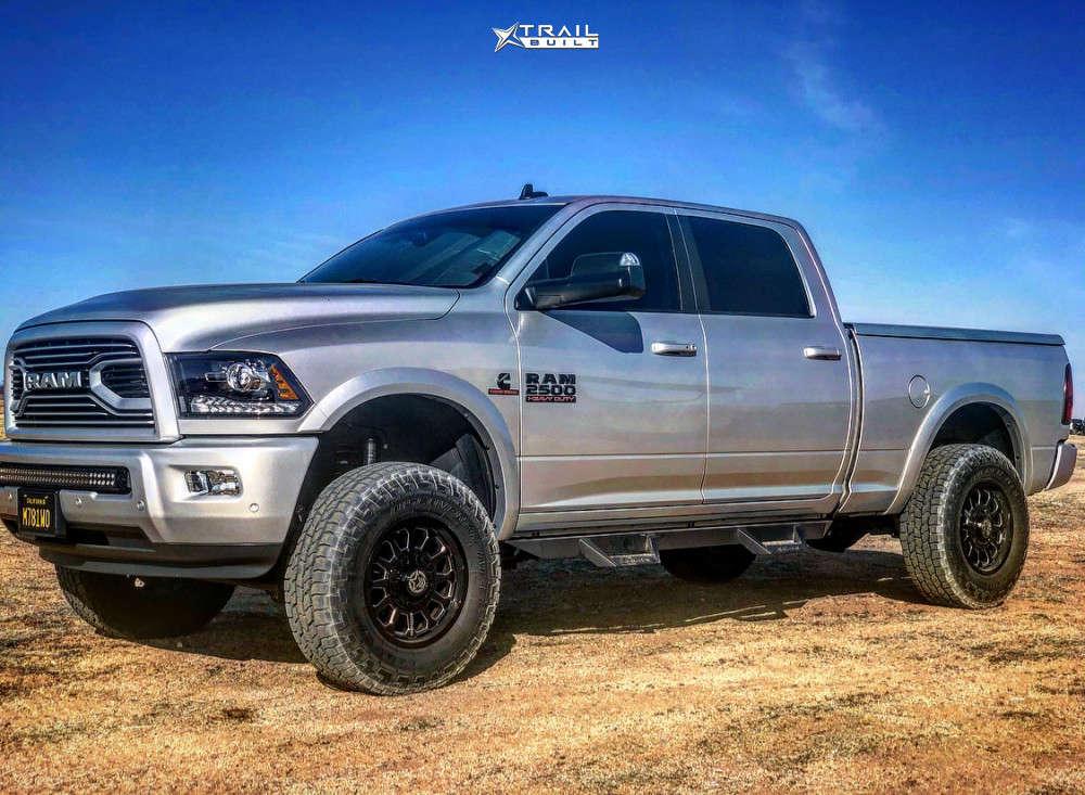 2018 ram 2500 anthem off-road wheels cooper tires