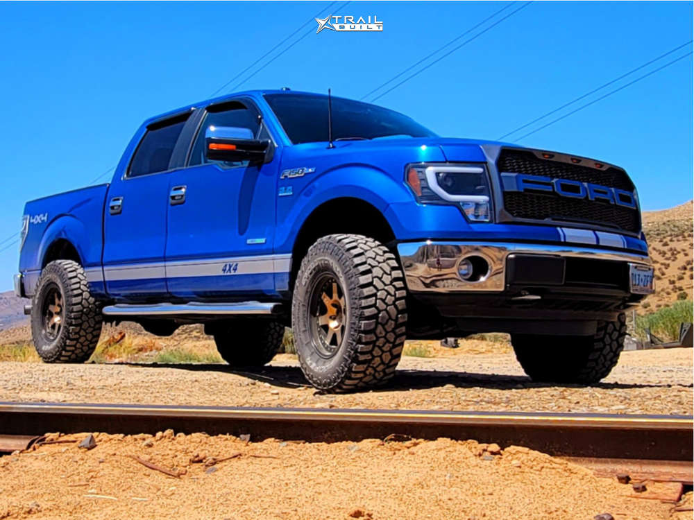 2014 ford f150 mayhem prodigy wheels rough country suspension