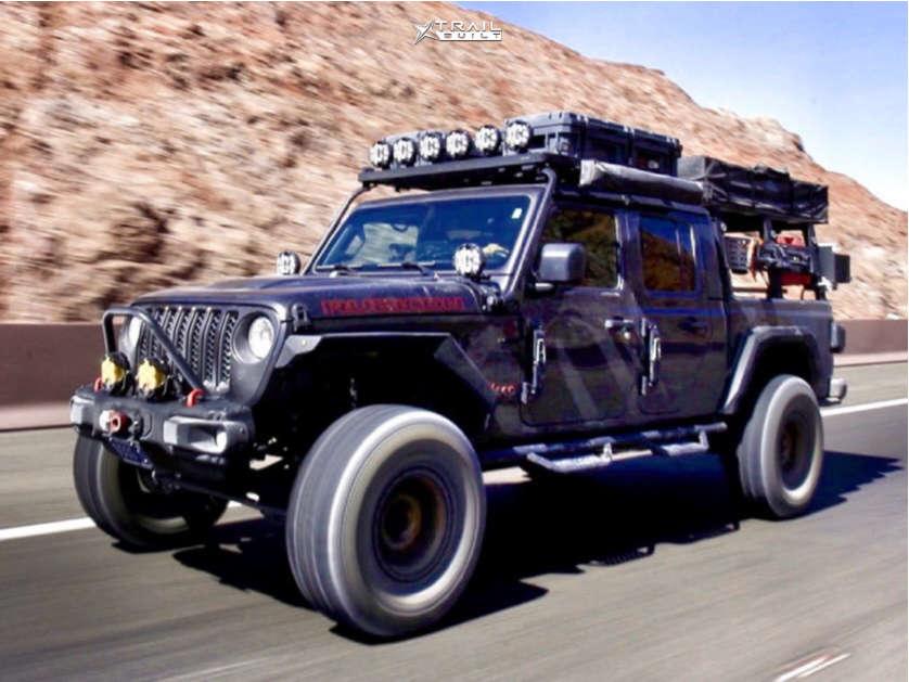 2020 jeep gladiator method race wheels general grabber tires