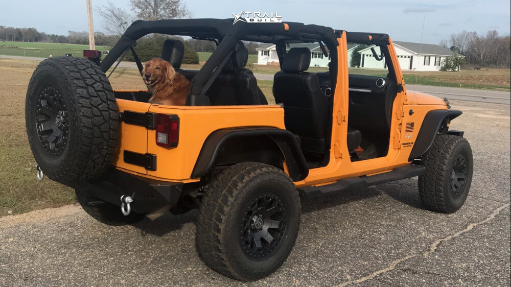 Jeep Wrangler JK Black Rhino Warlord